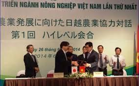 Hợp tác nông nghiệp Việt Nam-Nhật Bản sẽ là mô hình mẫu trong ASEAN