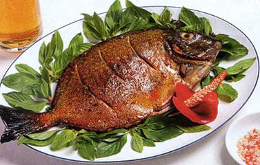 Món ăn cá dìa